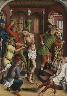 Master of the Karlsruhe Passion - Flagellation of Christ - Meister der Karlsruher Passion – Wikipedia