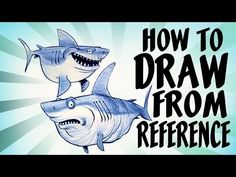 How to draw from reference - just a great tutorial on how to use reference to sharpen your concept art skills