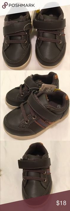 NWT brown toddler sneakers brand new-never worn❥velcro❥offers accepted on all bundles of toddler shoes! Shoes Sneakers