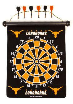 Texas Longhorns Magnetic Dart Board