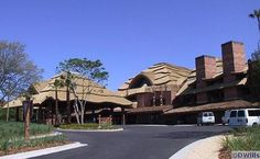 Disney's Animal Kingdom Lodge -- truly one of the nicest hotels I've ever stayed in