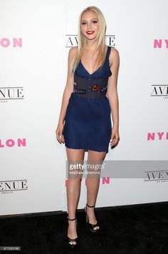 Actress Jordyn Jones attends NYLON's Annual Young Hollywood May Issue Event at Avenue on May 2, 2017 in Los Angeles, California.