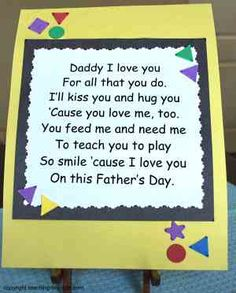 st patrick day poems | Free Printable Father's Day Poem !