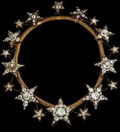 Diamond star tiara worn by Queen Amelia of Portugal by cecile
