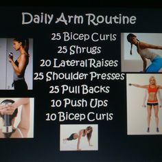 1000+ images about arm exercises on Pinterest | Arm ...