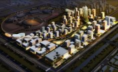 Development of new city quarter at the Southern edge of Olympic Park New Urbanism, Urban Design Plan, The Future Is Now, 3d Visualization, New City, Urban Planning, Olympics, Sustainability, Park