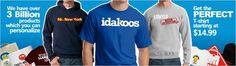 Idakoos Custom Clothes Online Store