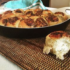 Parmesan Garlic Herb Butter Dinner Rolls. Impress your guest with these delicious rolls. Serve warm from the oven and the wonderful aroma will bring everyone to the table. Easy to make and can be refrigerated before baking so no last minute prep. To make:  To 1 cup milk heated to 115F, add 1 teaspoon active dry yeast, and 1 teaspoon barley malt syrup. Proof your yeast for 20 minutes or more until it is frothy. Add 2 cups all purpose flour to the bowl of a stand mixer fitted with your dough…