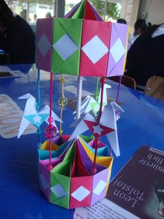 Kity Paper Art: Carrusel de Origami