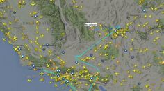 """ALERT! Russian Airforce Jet Just Passed Over LA, San Diego and Las Vegas DAHBOO77     Published on Dec 4, 2015 We have witnessed at Least 1 Russian Airforce Jet go directly over 3 Major US Cities! it originated from Moscow, Russia. It is listed as part of the Russian Military and Space Aircraft. It is also operating without Any Call Sign! It looks to be part of the """"Open Skies Treaty"""". It has flown over many cities, reservoirs and military installations"""