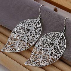 925 Sterling Silver Earring Charm Fashion Very beautiful! Jewelry Earrings