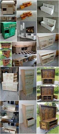 Unique-and-Pretty-Wooden-Pallet-Projects.jpg (750×1699)