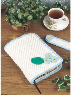 """Free pattern for """"Bible Cover and Bookmark""""!"""