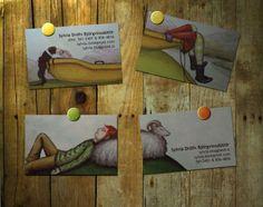 Tarjetas de presentación muy creativas!