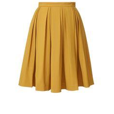 Orla Kiely, Wool Blend Suiting Skirt