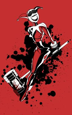 I love Harley Quinn. Yes, I do.