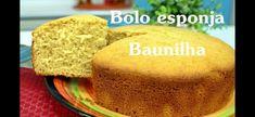 Chef Léo Oliveira – Massa esponja de baunilha