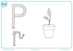 Fichas de gramotricidad con letras - Mundo Primaria Mini Mundo, Math Equations, Education, School, Alphabet, Uppercase And Lowercase Letters, Montessori Activities, Infant Learning Activities, Writing