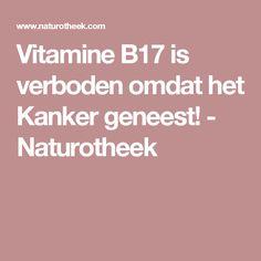 Vitamine B17 is verboden omdat het Kanker geneest! - Naturotheek