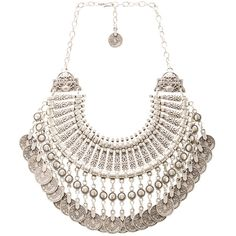 Natalie B Fit for a Queen Necklace ($88) ❤ liked on Polyvore featuring jewelry, necklaces, accessories, disc necklace, engraved necklaces, silver plated necklace, coin pendant and engravable disc pendant