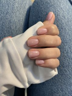 Маникюр 2020 Идеи для маникюра  #manicure #nails #fashion #aesthetic Subtle Nails, Neutral Nails, Nude Nails, Nail Manicure, Pink Nails, Gel Nails, Manicures, Casual Nails, Stylish Nails