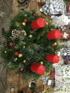 Christmas Wreaths, Holiday Decor, Home Decor, Crafting, Ideas, Decoration Home, Room Decor, Home Interior Design, Home Decoration