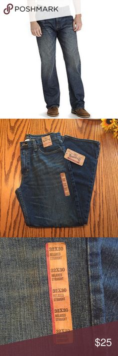 Roebuck & Co relaxed straight men's jeans 32x30  Roebuck & Co relaxed straight men's jeans 32x30 Jeans Relaxed