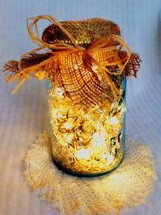 Vintage Mason Jar Firefly Lantern