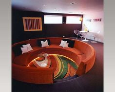 70's Design couch.