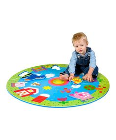 Take a look at this My Giant Floor Puzzle by ALEX on #zulily today!