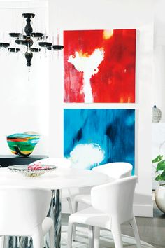 Condo interior decorating on #westernliving: Design inspired by the city. #Vancouver