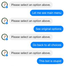 Why do chatbots fail?