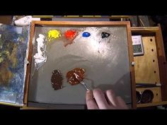 How To Mix Burnt Umber - Color Mixing Exercises