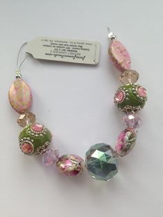 Jesse James Bead Strand  Secret Garden no 2  by AmandaHLCreations