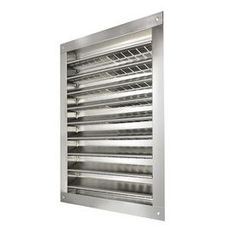 Master Flow Aluminum Static Gable/Wall Louver 14-in x 24-in Rectangle Aluminum Gable Vent