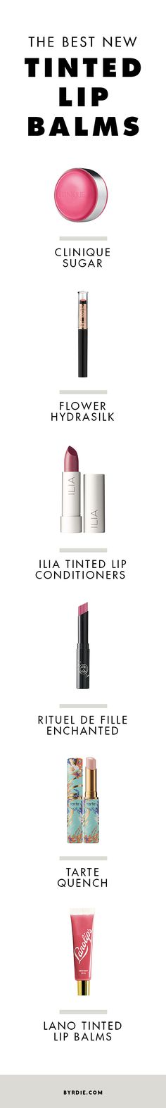7 new lip balms to add to your makeup bag