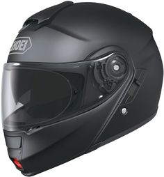 Shoei Neotec Matte Black SIZE:LRG Full Face Motorcycle Helmet