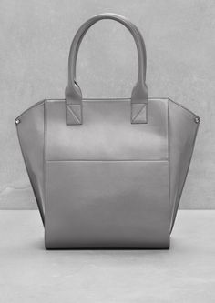 & Other Stories   Leather Tote