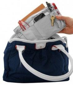 Handbag Organization, Organisers, Diaper Bag, Bags, Organisation, Handbags, Diaper Bags, Taschen, Purse