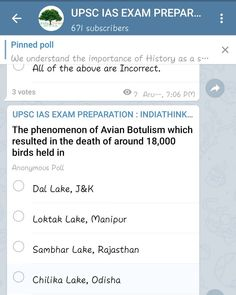 Hey guys attempt the today's current affairs quiz now.✌ Head on to out Telegram Channel: and be a part of us. Ias Officers, Current Affairs Quiz, Hold On, Channel, Pencil, Study, Guys, Instagram, Studio