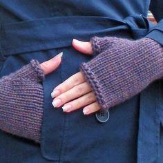 Simple Surly Bulky Gloves Knit Pattern