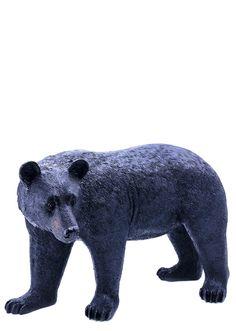 Black Bear Garden Statue