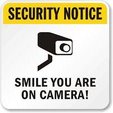 SIGN OF CCTV SURVEILLANCE OPERATION HIKMA INFOTECH CCTV Installation in Chennai~ Hikma InfoTech