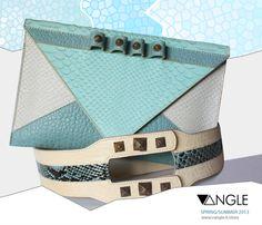 Small Envelope clutch & belt