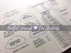 Bullet Journal For Students