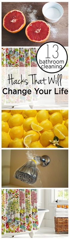File this under: life hacks. Spring is here, or at least for some of us, and that means lots of cleaning. We've rounded up ten more easy life hacks that aim … Deep Cleaning Tips, Cleaning Recipes, House Cleaning Tips, Natural Cleaning Products, Cleaning Solutions, Spring Cleaning, Bathroom Cleaning Hacks, Toilet Cleaning, Cleaning Diy