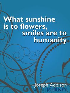 What sunshine is to flowers, #smiles are to humanity. Wachusett Pediatric Dentistry - pediatric dentist in Fitchburg, MA @ www.dentalhealth4kids.com