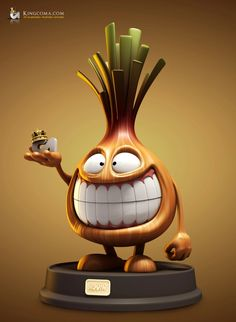 Showcase of Very Funny Character Illustrations from CGSociety cebola Character Design Cartoon, Funny Character, Character Modeling, Character Concept, Character Art, Concept Art, Illustration Art Dessin, Character Illustration, 3d Illustrations