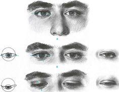 pencil sketch tutorial - eyes