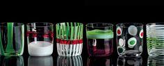 Bora by Carlo Moretti- Murano crystal glasses- The Italian Buzz Glass Molds, Pressed Glass, Carnival Glass, Murano Glass, Boruto, Pint Glass, Pure Products, Crystals, Cool Stuff